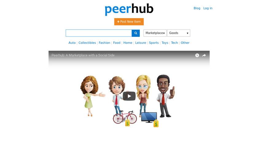 Peerhub Landing Page