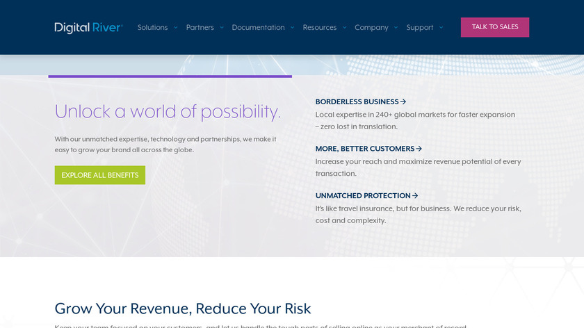 Digital River Landing Page