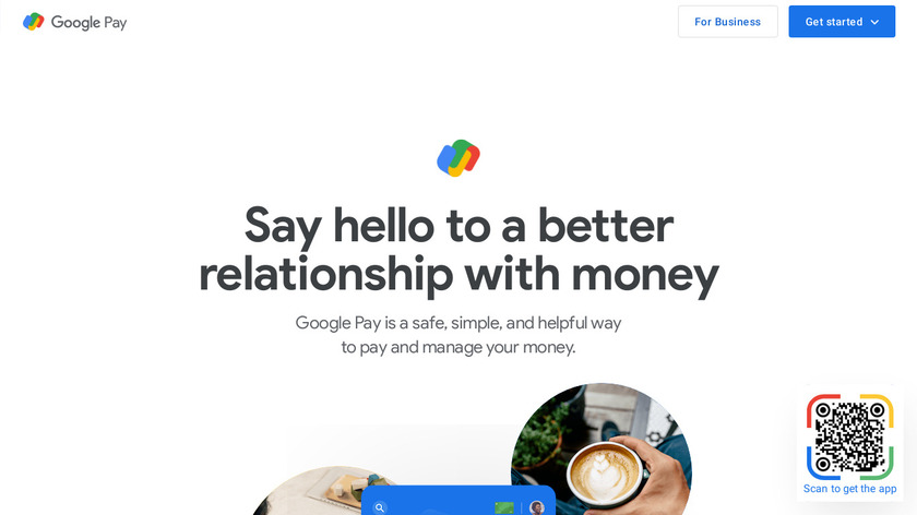 Google Pay Landing Page