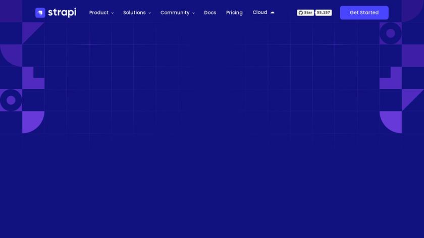 Strapi Landing Page
