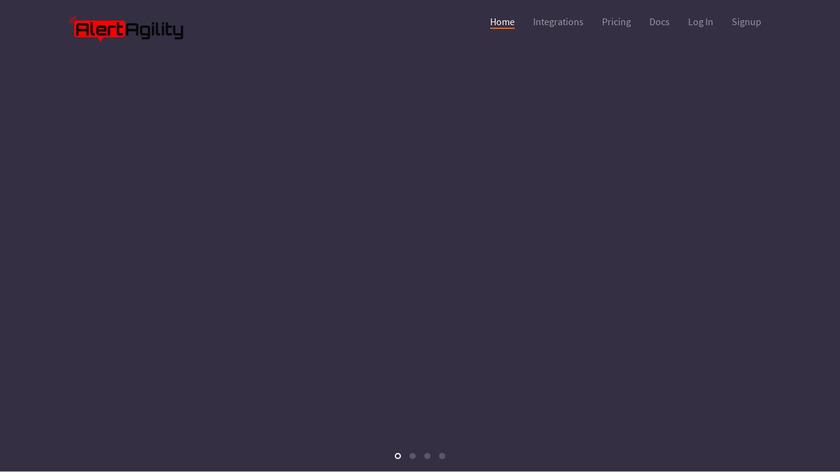 AlertAgility Landing Page