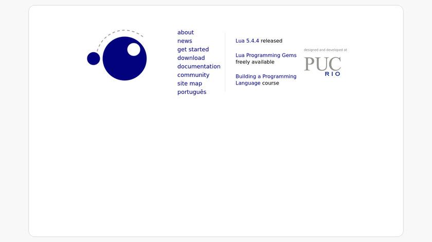 Lua Landing Page