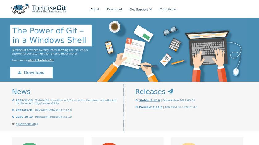 TortoiseGit Landing Page
