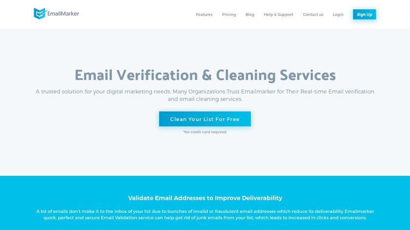 Emailmarker Landing Page
