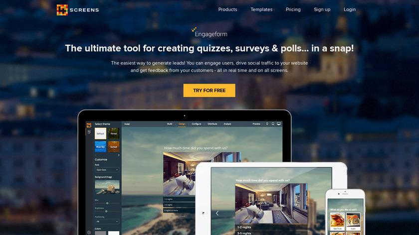 Engageform Landing Page