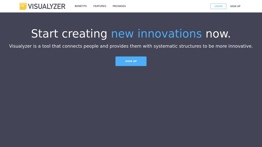 Visualyzer Landing Page