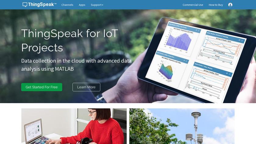 ThingSpeak Landing Page