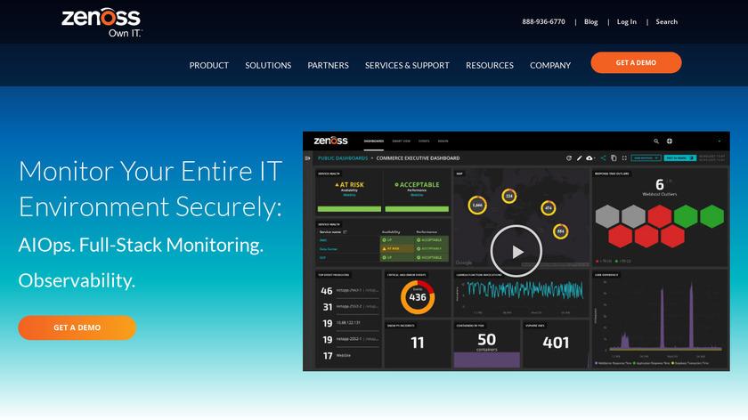 Zenoss Core Landing Page