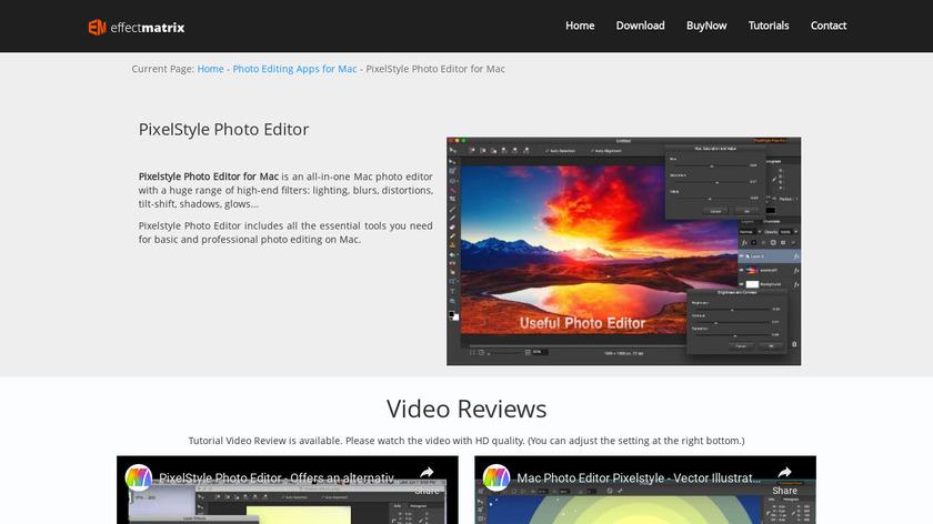 PixelStyle Landing Page