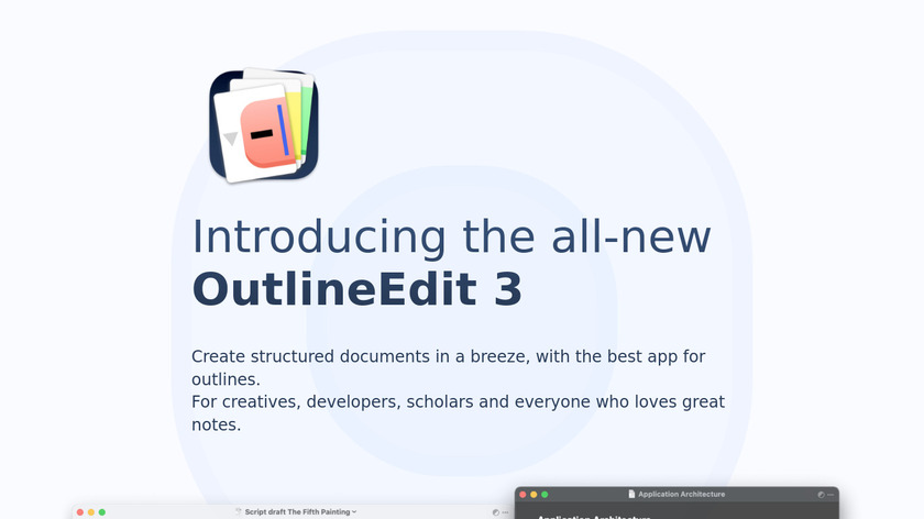 OutlineEdit Landing Page