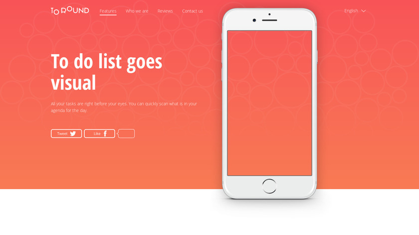 To Round Landing Page