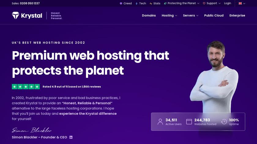 Smart Hosting Landing Page
