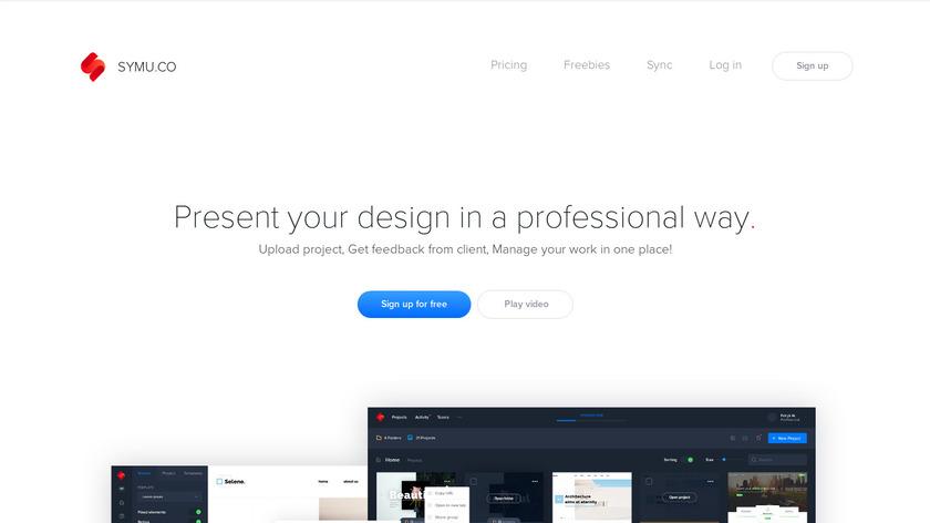 Symu.co Landing Page