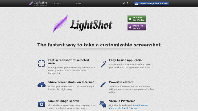 LightShot Landing Page