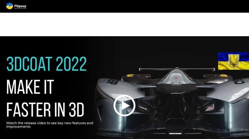 3D-Coat Landing Page