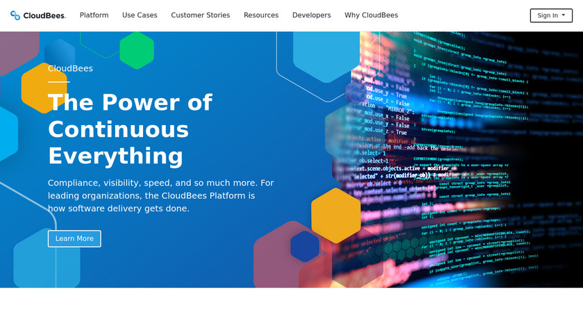CloudBees Landing Page