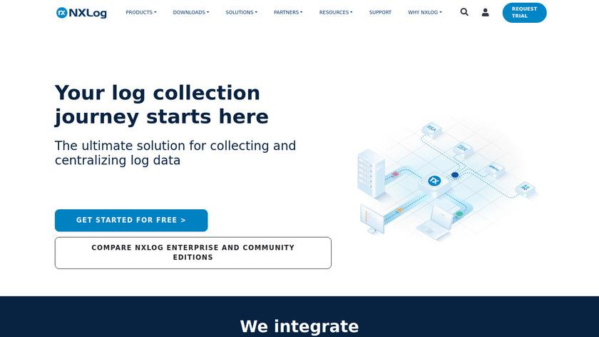 nxlog Landing Page