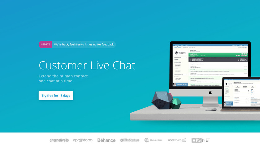 csupport Landing Page