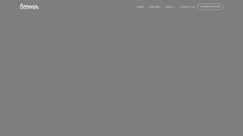 Boomer Marketing Landing Page
