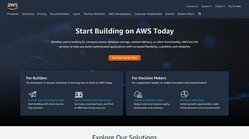 AWS Landing Page