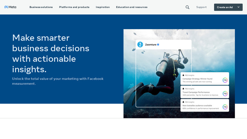 Atlas by Facebook Landing Page
