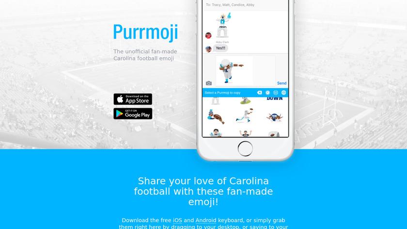 Purrmoji Landing Page