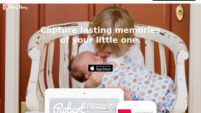 Baby Story Landing Page