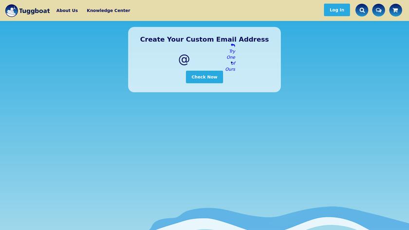 Tuggboat Landing Page