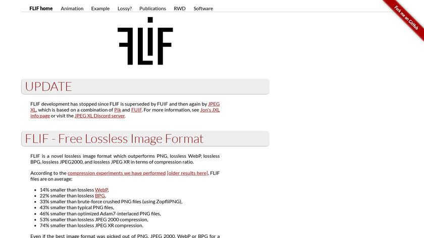 FLIF Landing Page