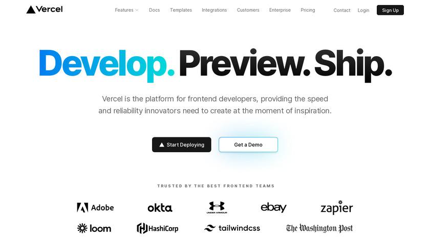 Zeit.world Landing Page