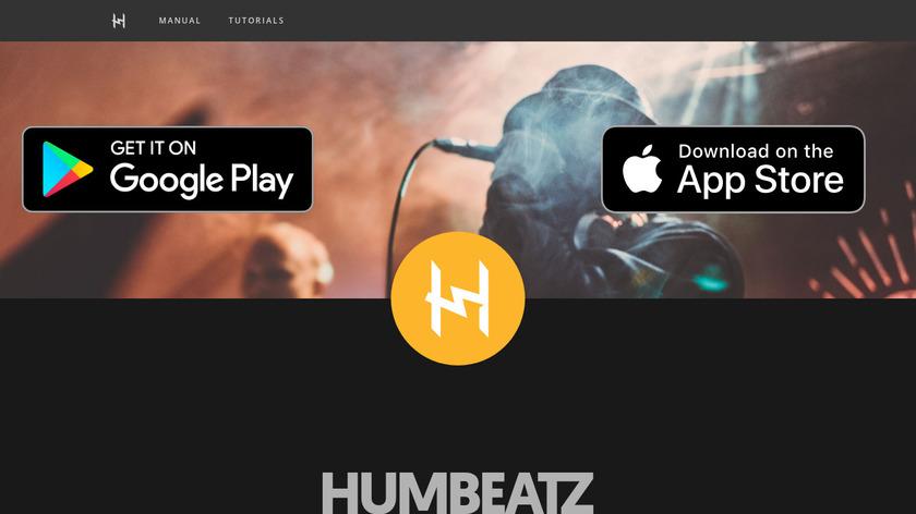 HumBeatz Landing Page
