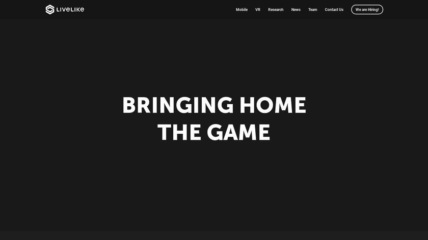 LiveLike Landing Page