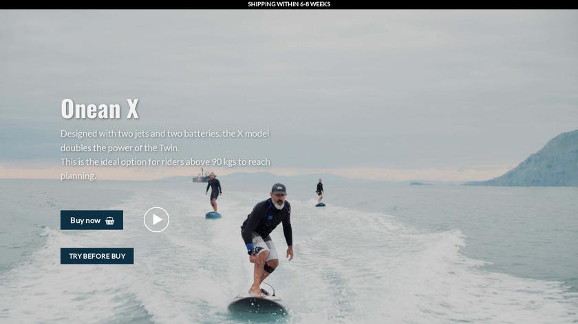 Carver X Landing Page