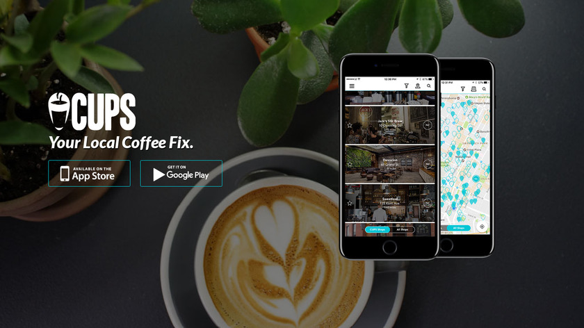 CUPS Landing Page