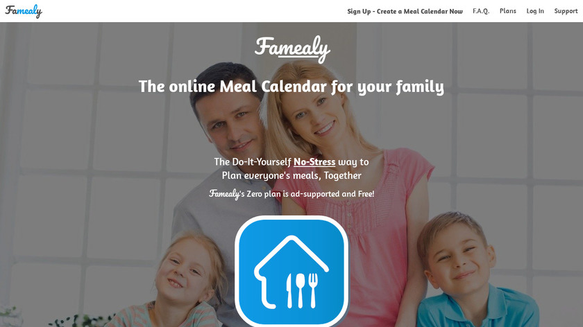 Famealy Landing Page