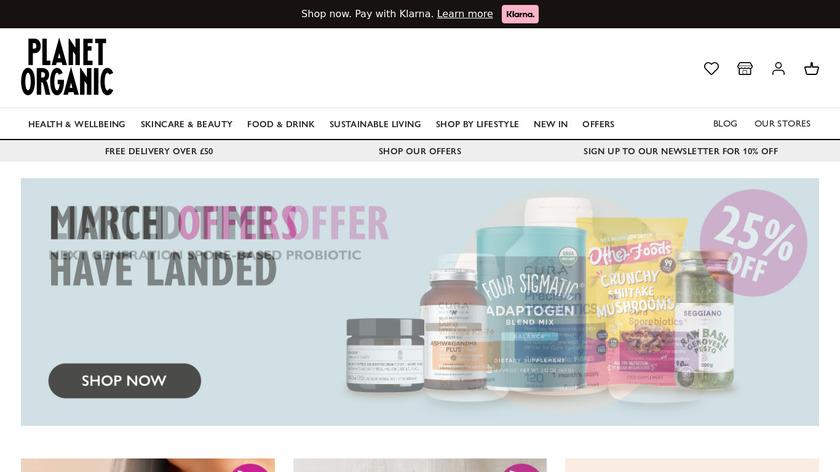 Farmdrop Landing Page