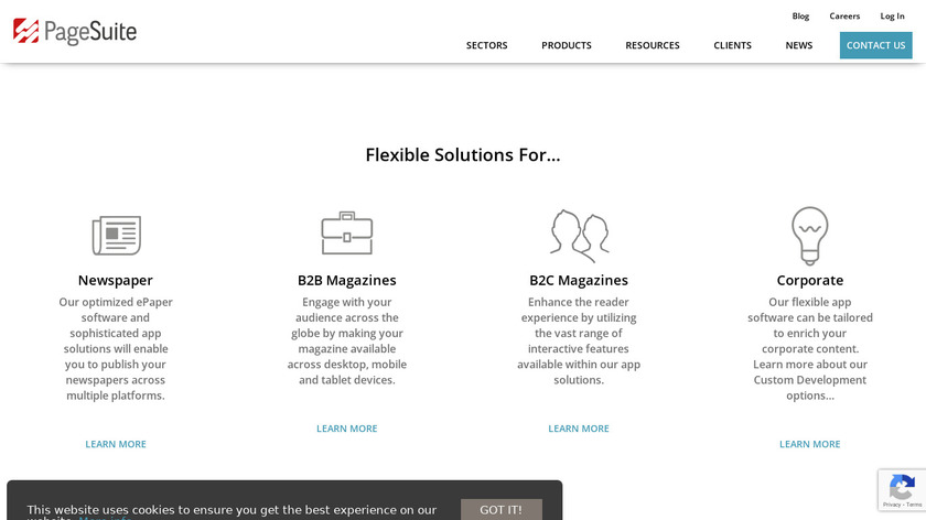 PageSuite Landing Page