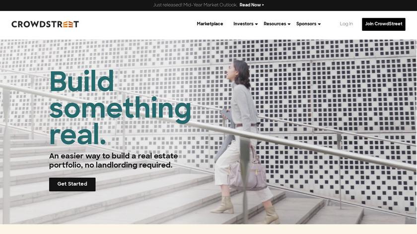 CrowdStreet Landing Page