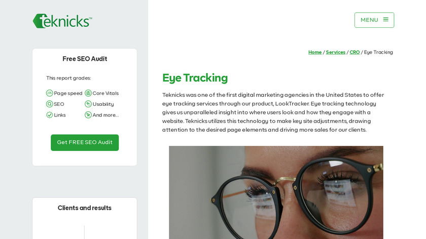 LookTracker Landing Page