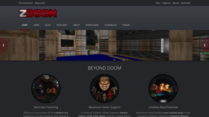GZDoom Landing Page