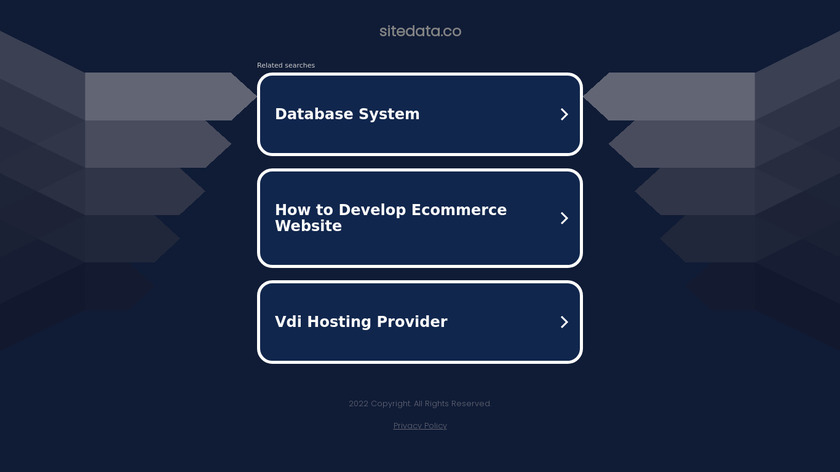SiteData.co Landing Page