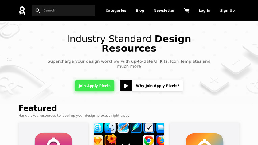 App Icon Template Landing Page