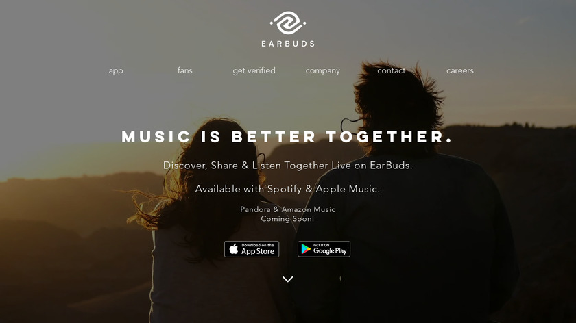 Earbuds Landing Page