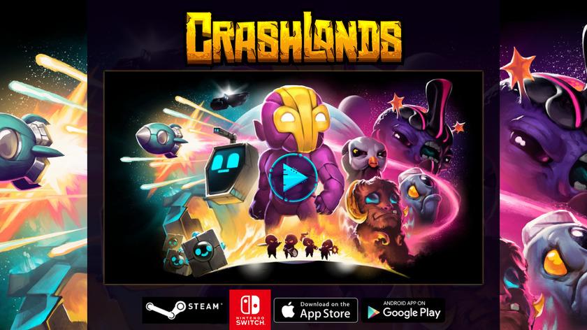 Crashlands Landing Page