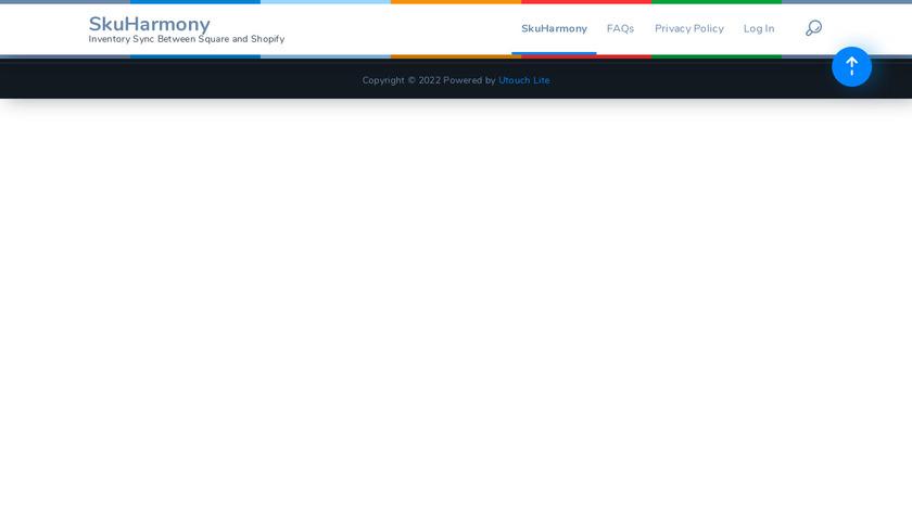 Squarify.io Landing Page