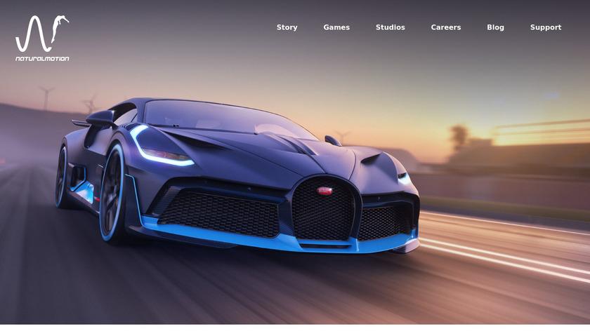CSR Racing Landing Page