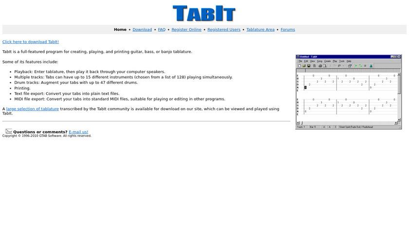 Tabit Landing Page