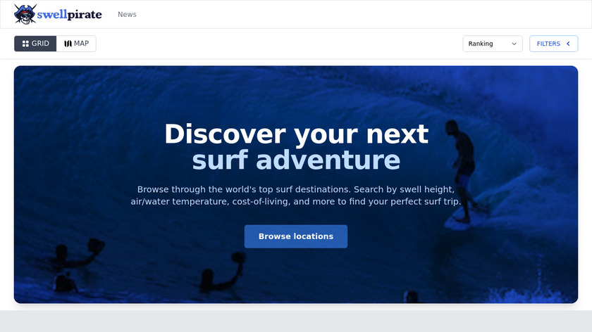 Wavetrotter Landing Page