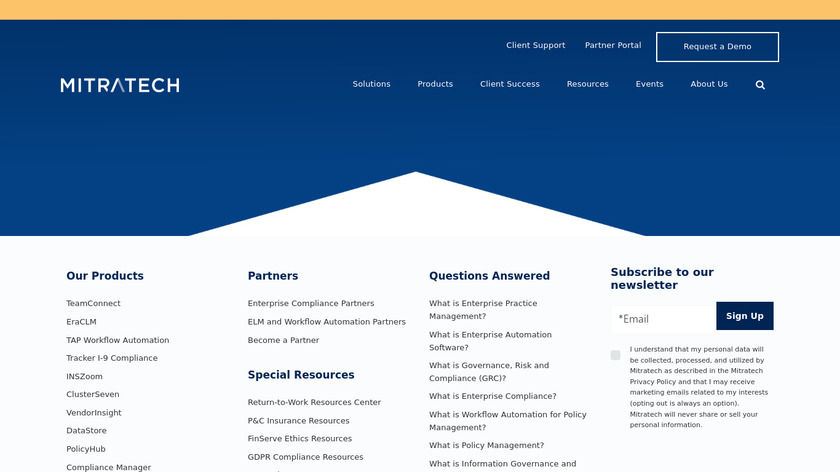 Acuity ELM Landing Page