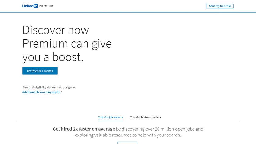LinkedIn Premium Landing Page